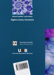 Algebra Lineal y Geometria