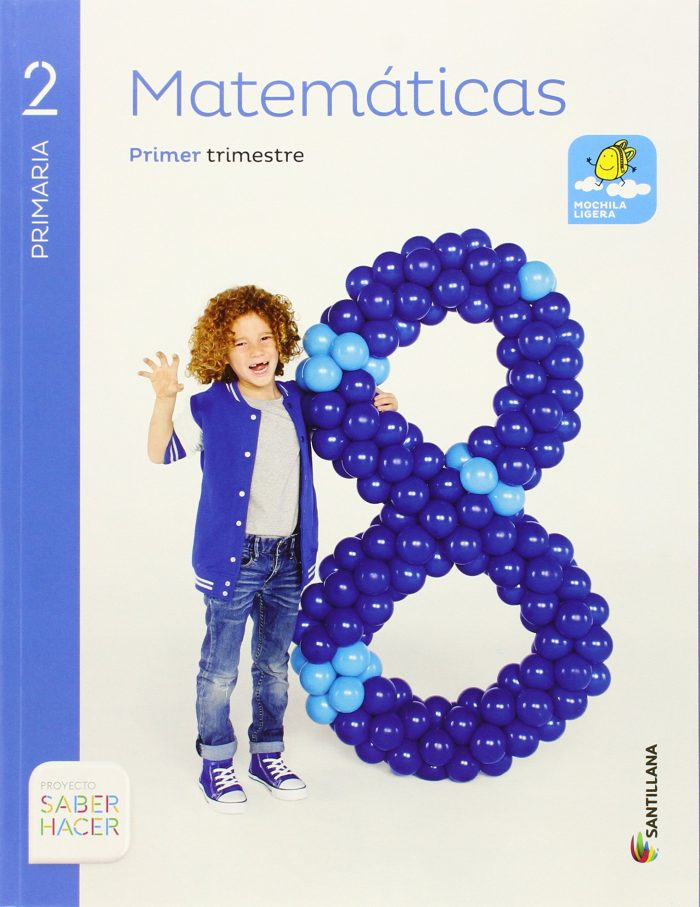 Descargar Libro Matemáticas 2 Primaria Santillana Proyecto Saber Hacer PDF