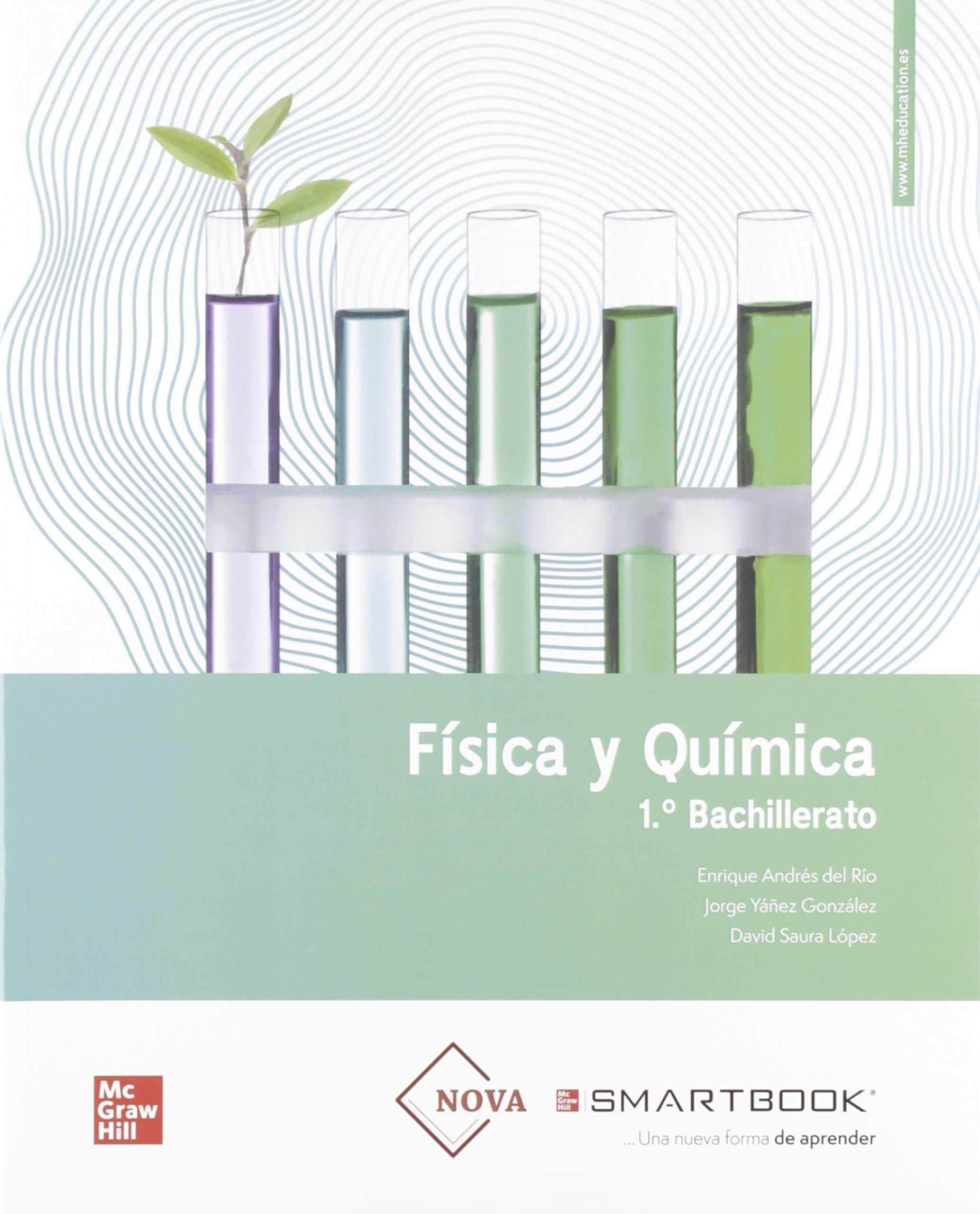 Solucionario Y Libro Fisica Y Quimica 1 Bachillerato Mc Graw