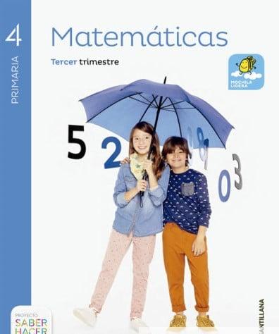 Matemáticas 4 Primaria Santillana Saber Hacer