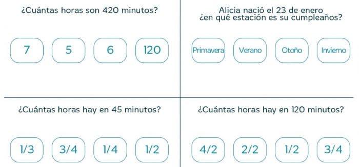 VACACIONES SANTILLANA 4º PRIMARIA - Imprimir libro PDF y soluciones 7