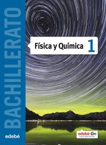 Fisica y quimica 1 bachillerato edebé