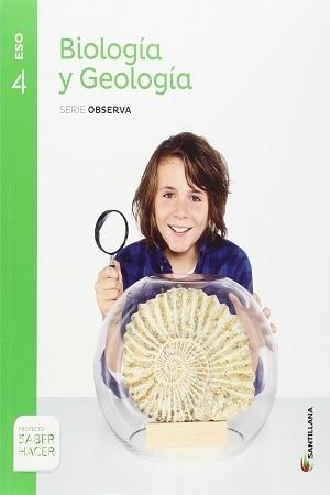 Biologia y Geologia 4 ESO Santillana